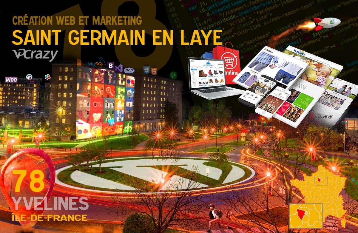 Créateur de site internet Saint-Germain-en-Laye et Marketing Web