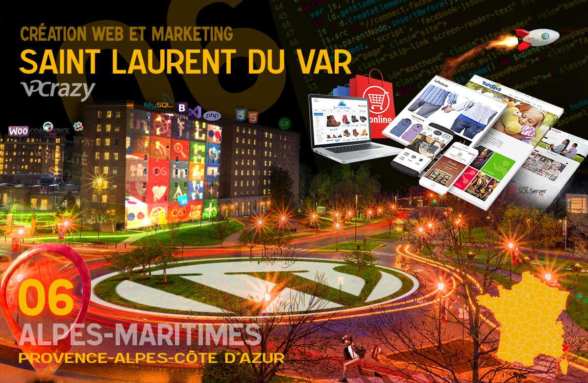 Créateur de site internet Saint-Laurent-du-Var et Marketing Web