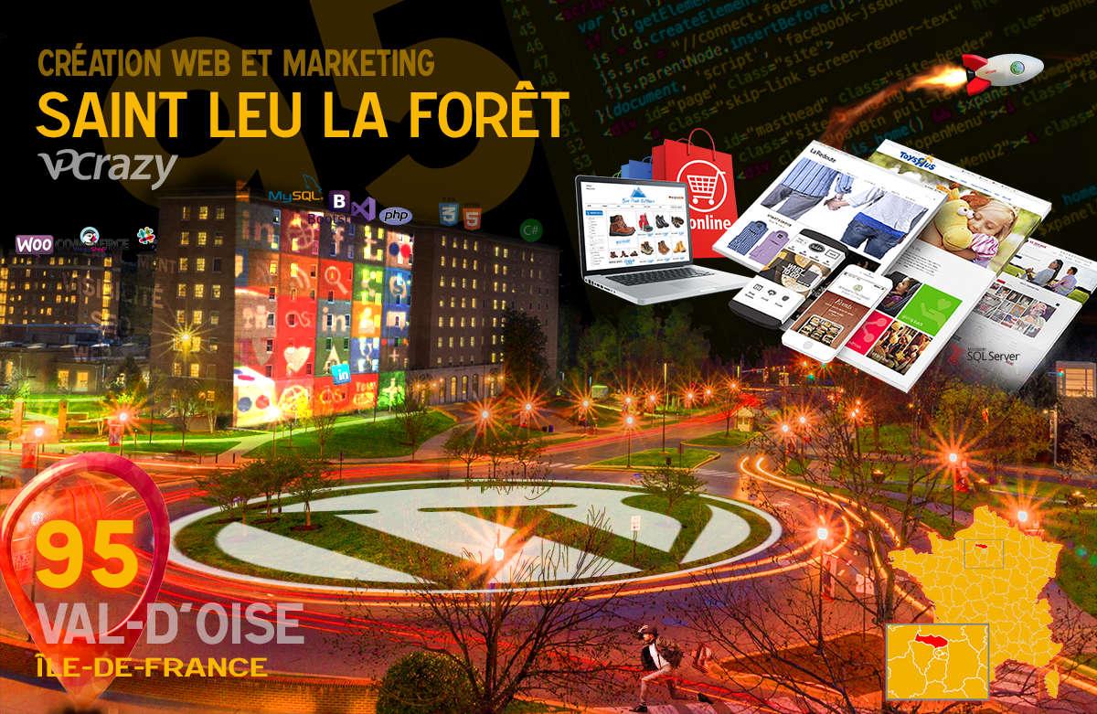 Créateur de site internet Saint-Leu-la-Forêt et Marketing Web