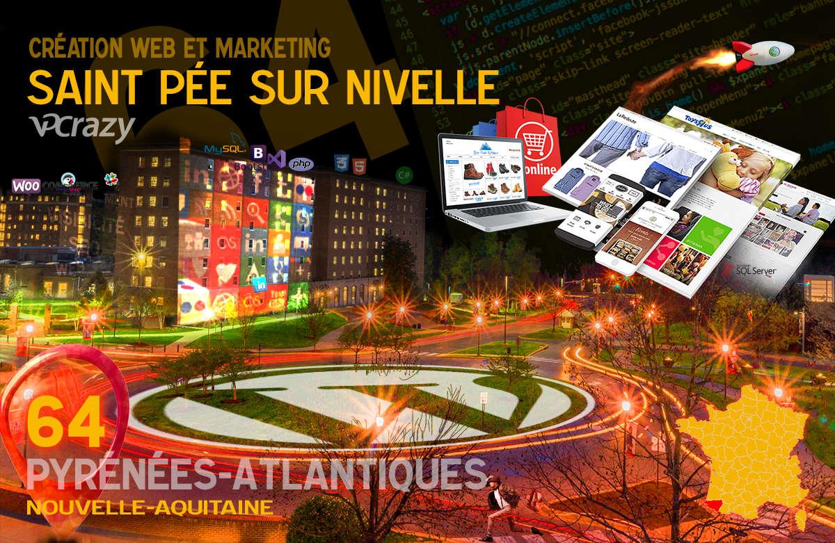 Créateur de site internet Saint-Pée-sur-Nivelle et Marketing Web