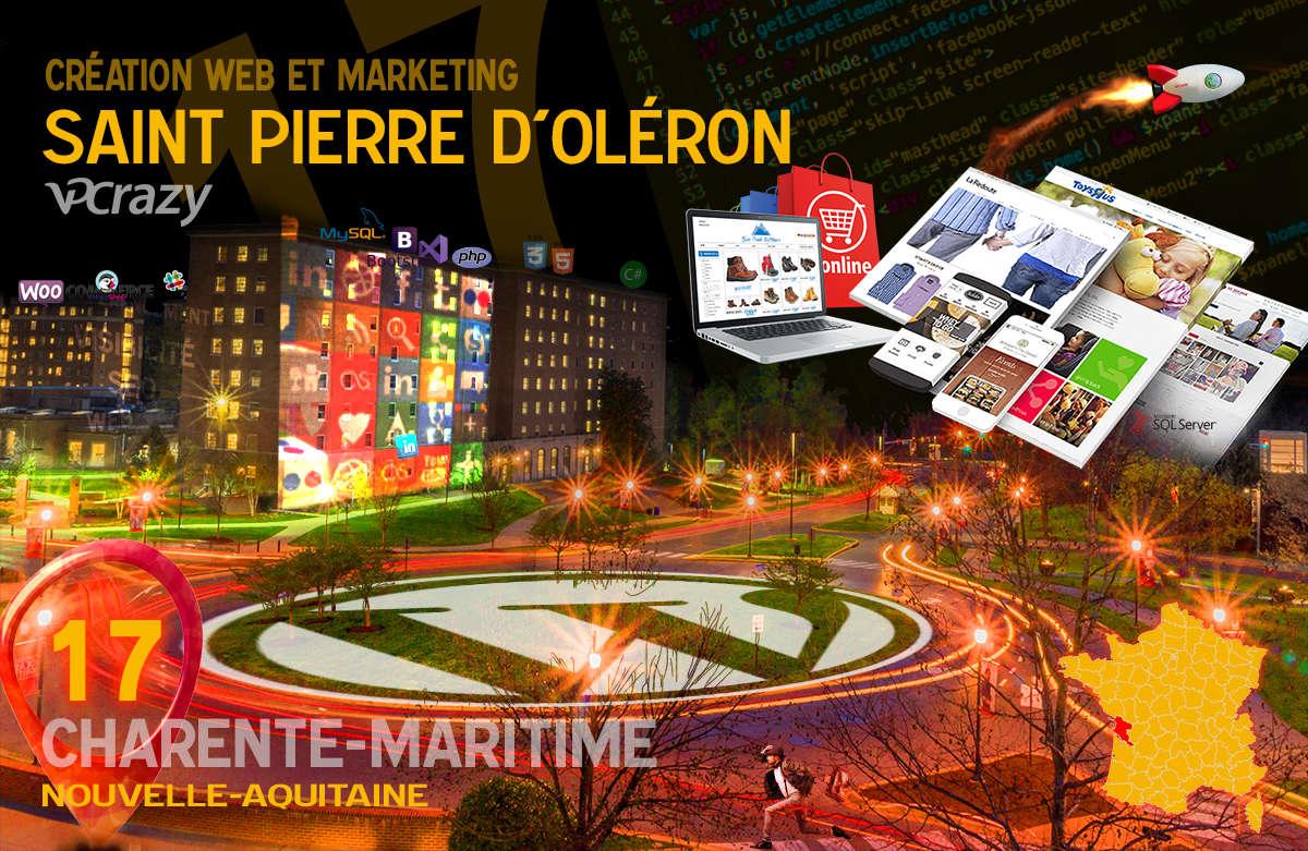 Créateur de site internet Saint-Pierre-d'Oléron et Marketing Web