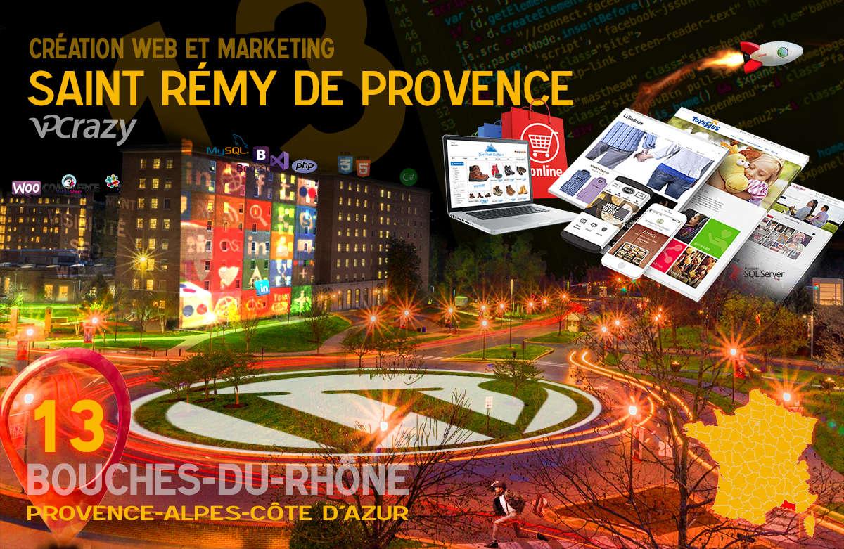 Créateur de site internet Saint-Rémy-de-Provence et Marketing Web