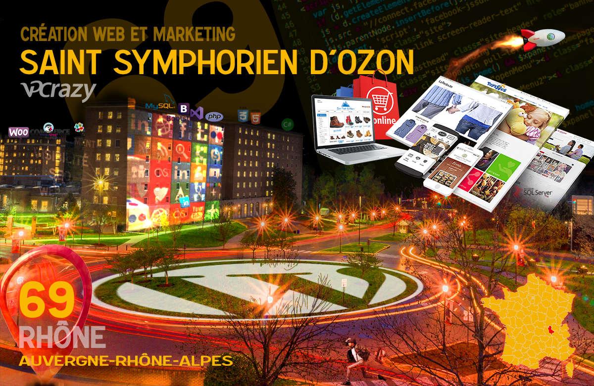 Créateur de site internet Saint-Symphorien-d'Ozon et Marketing Web