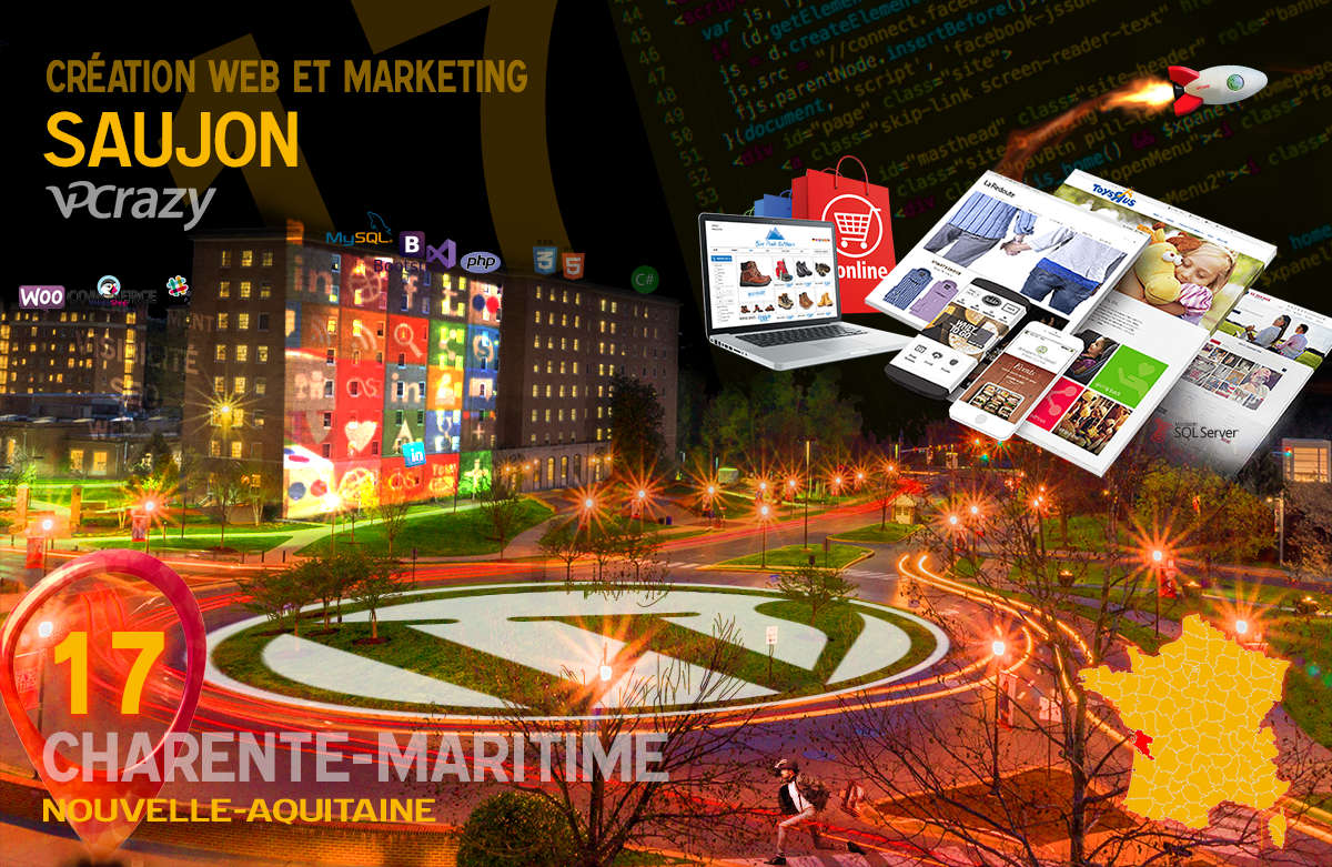 Créateur de site internet Saujon et Marketing Web