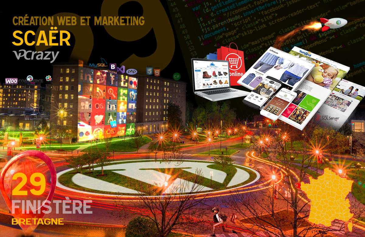Créateur de site internet Scaër et Marketing Web