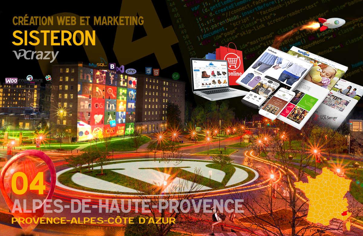 Créateur de site internet Sisteron et Marketing Web