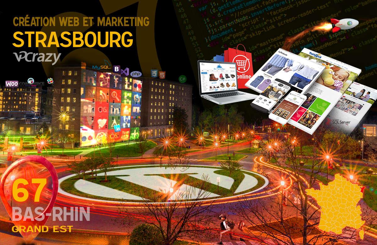 Créateur de site internet Strasbourg et Marketing Web