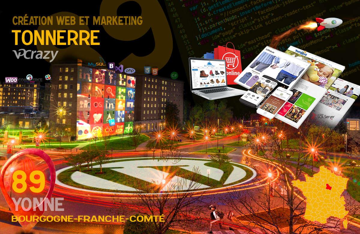 Créateur de site internet Tonnerre et Marketing Web