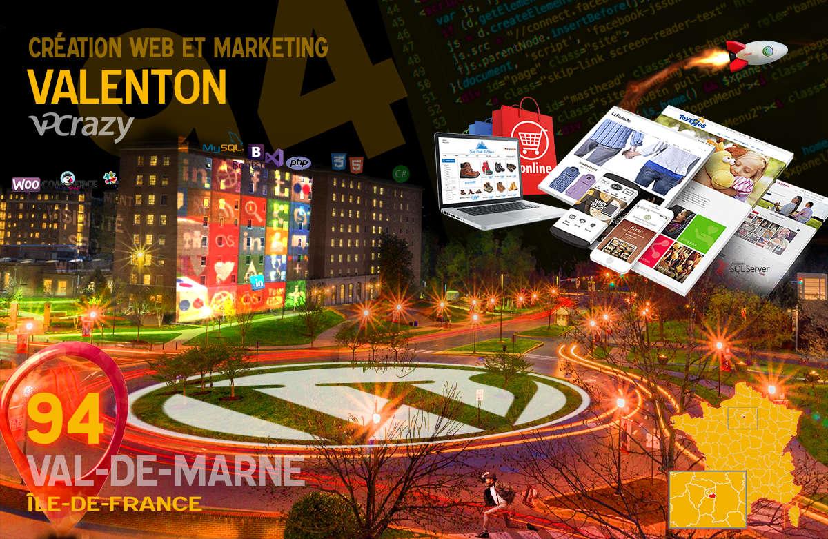 Créateur de site internet Valenton et Marketing Web