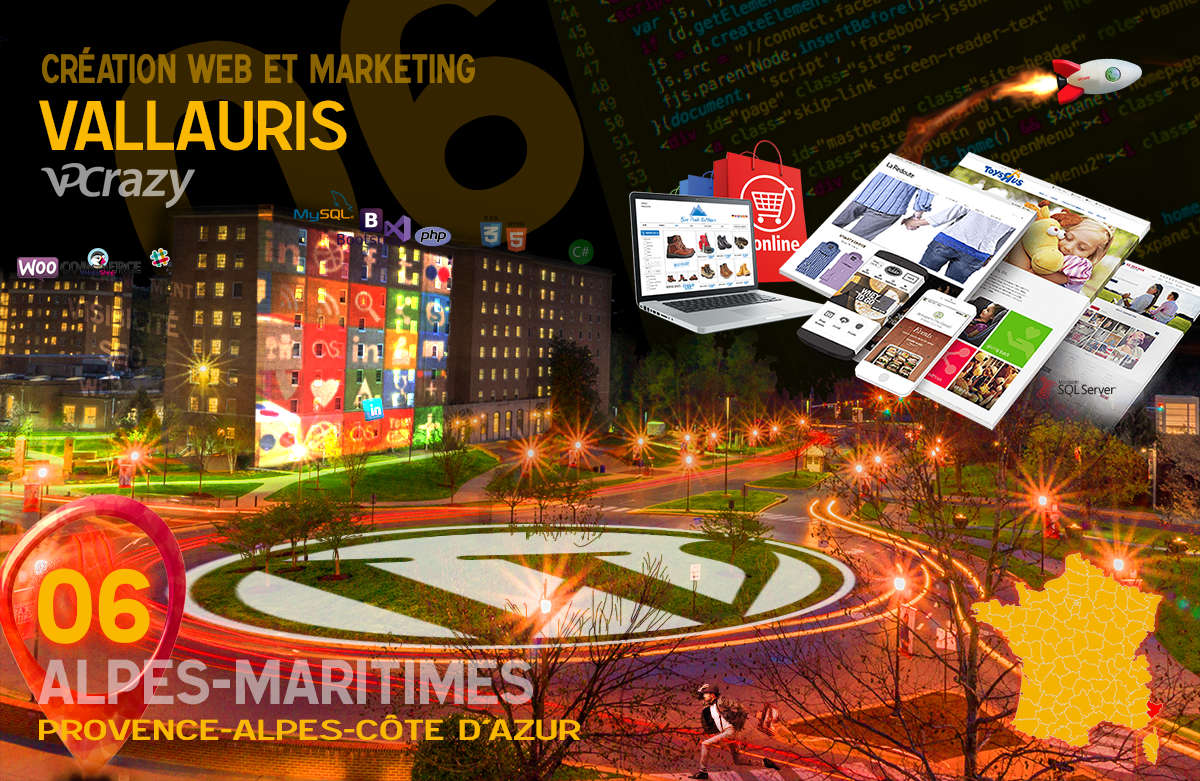 Créateur de site internet Vallauris et Marketing Web