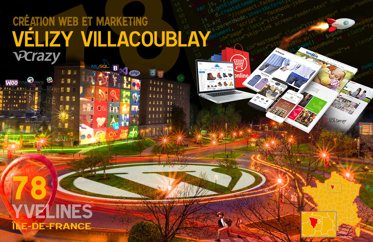 Créateur de site internet Vélizy-Villacoublay et Marketing Web