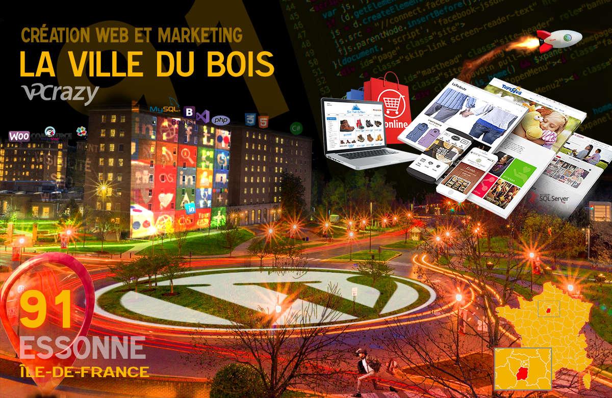Créateur de site internet La Ville-du-Bois et Marketing Web