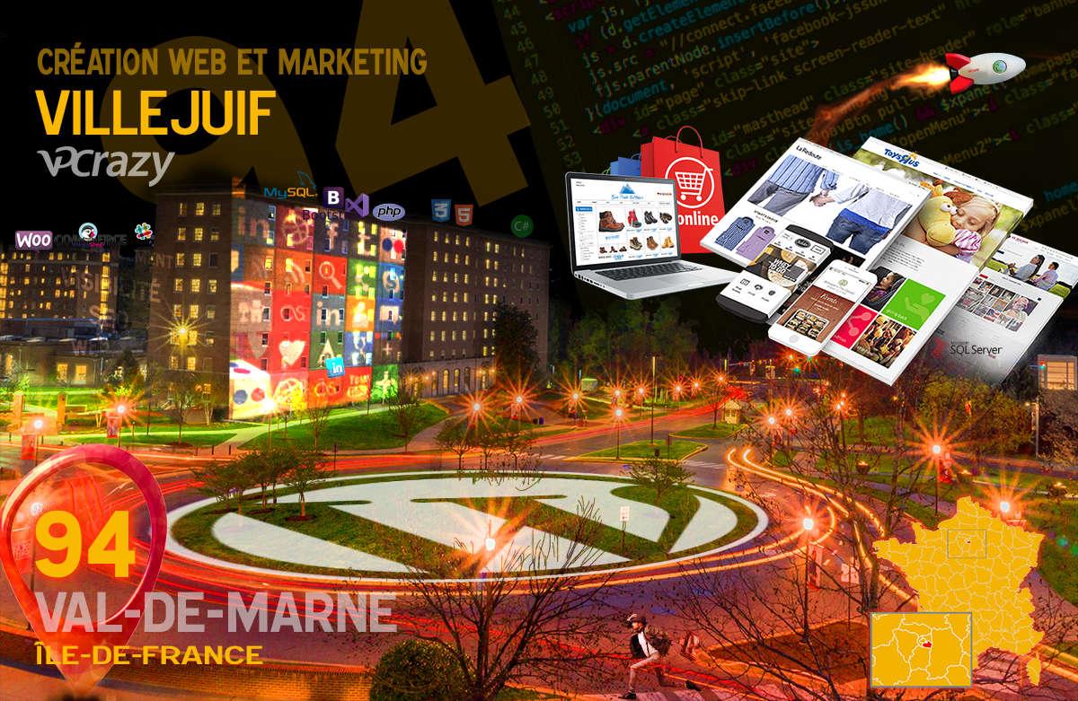 Créateur de site internet Villejuif et Marketing Web