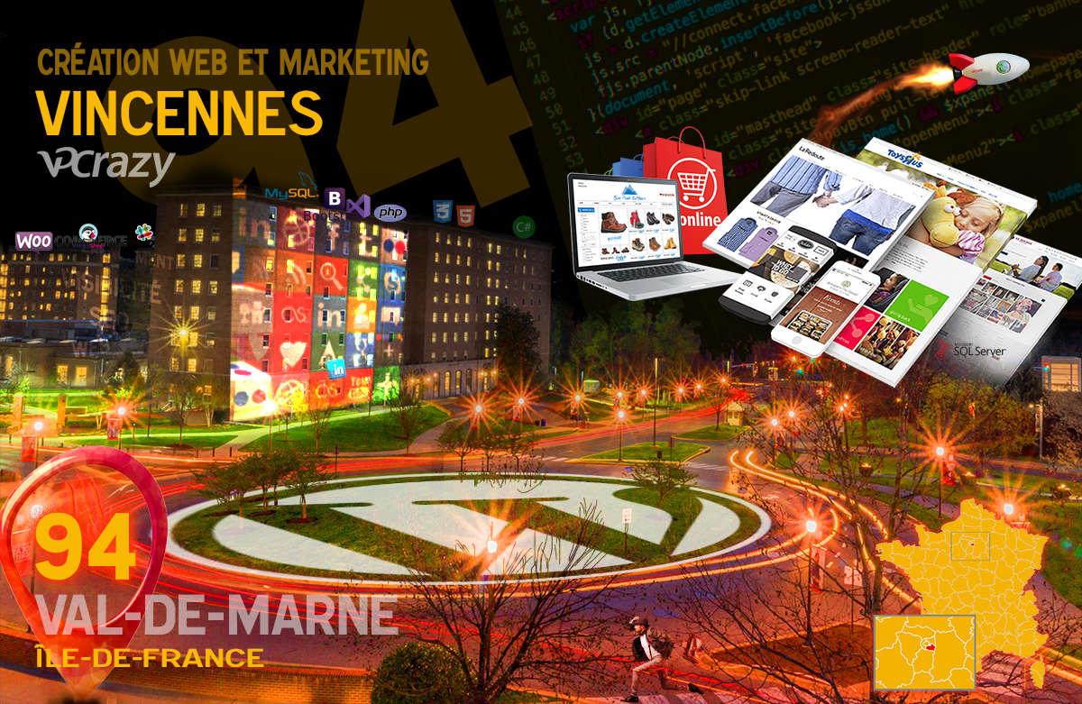 Créateur de site internet Vincennes et Marketing Web
