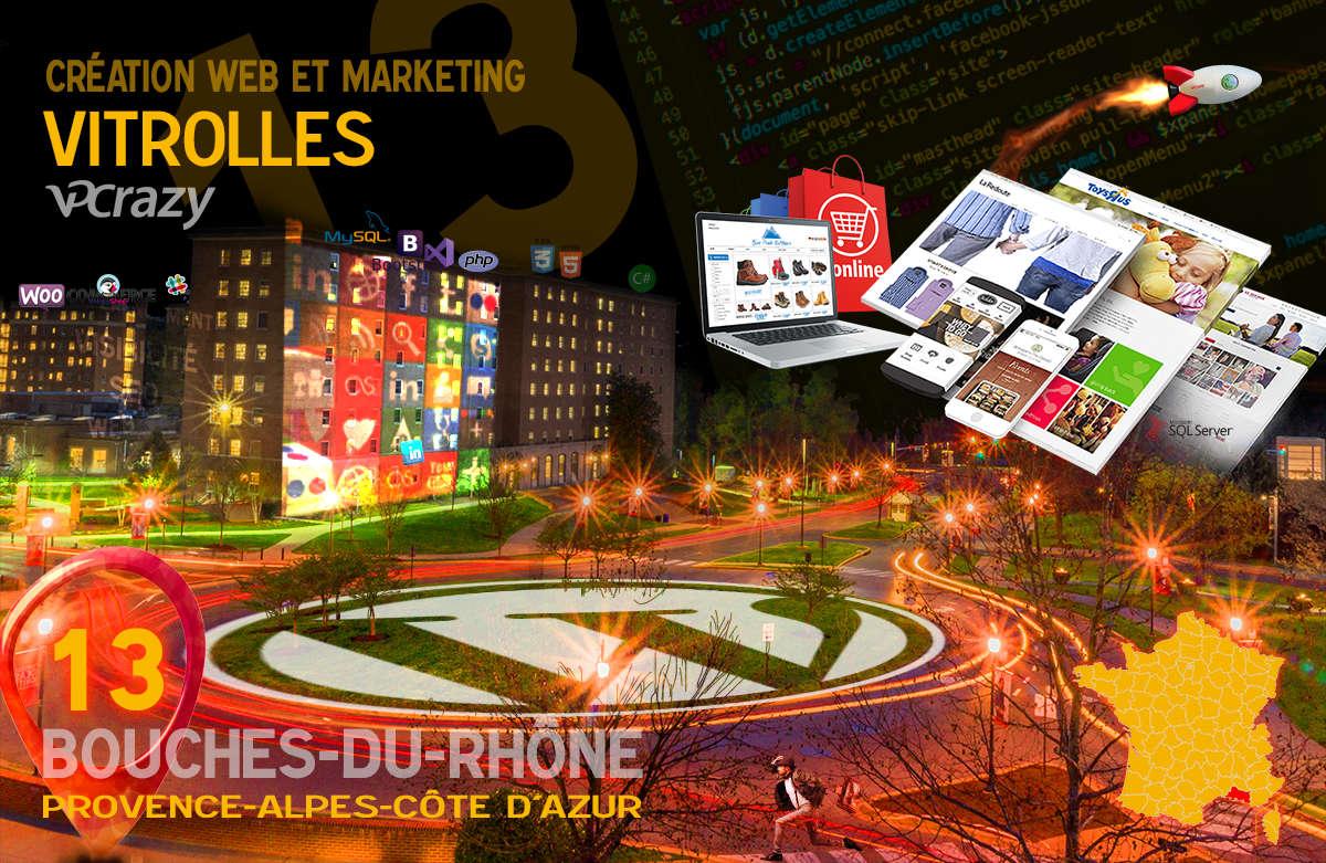 Créateur de site internet Vitrolles et Marketing Web