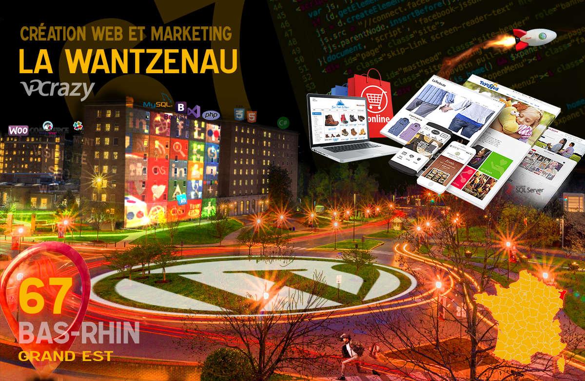 Créateur de site internet La Wantzenau et Marketing Web