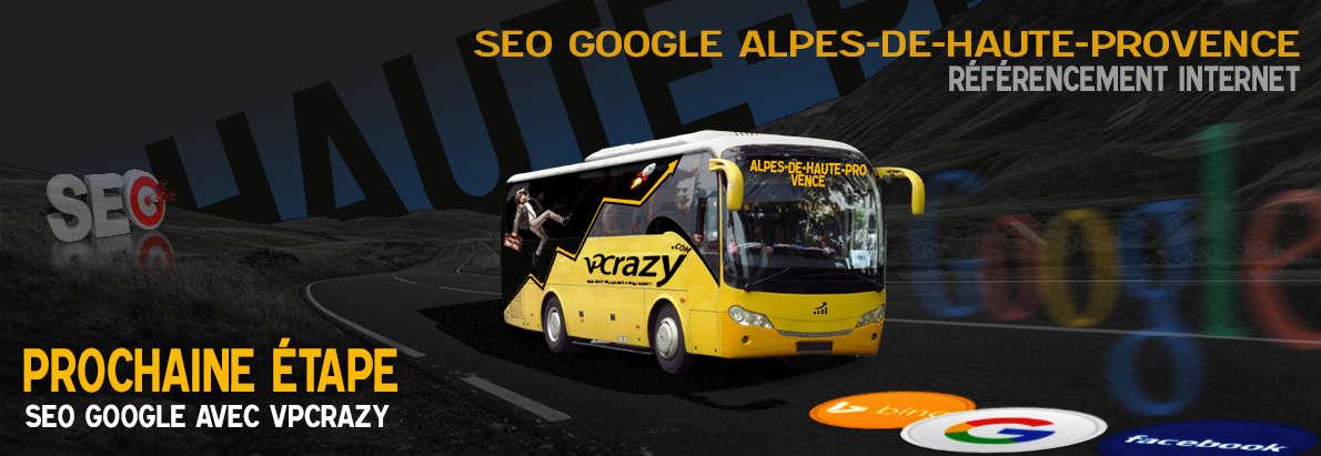 Agence SEO Google Alpes-de-Haute-Provence