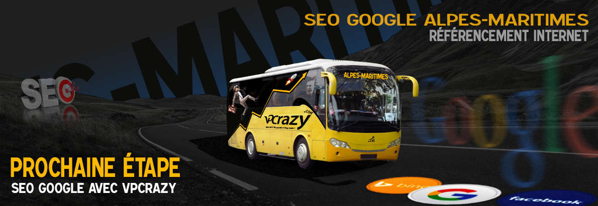 Agence SEO Google Alpes-Maritimes