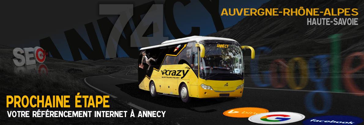 Agence SEO Google Annecy