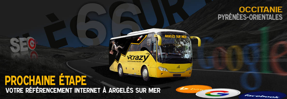 Agence SEO Google Argelès-sur-Mer