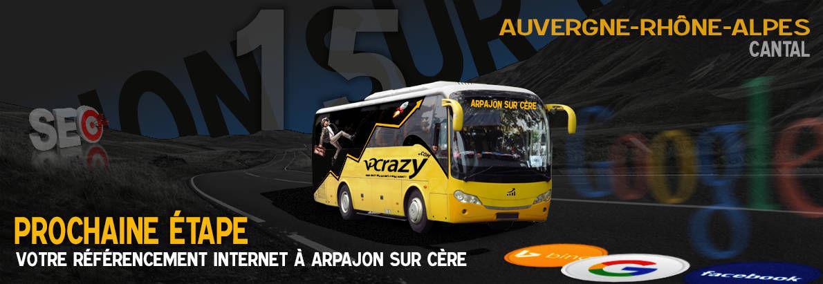 Agence SEO Google Arpajon-sur-Cère
