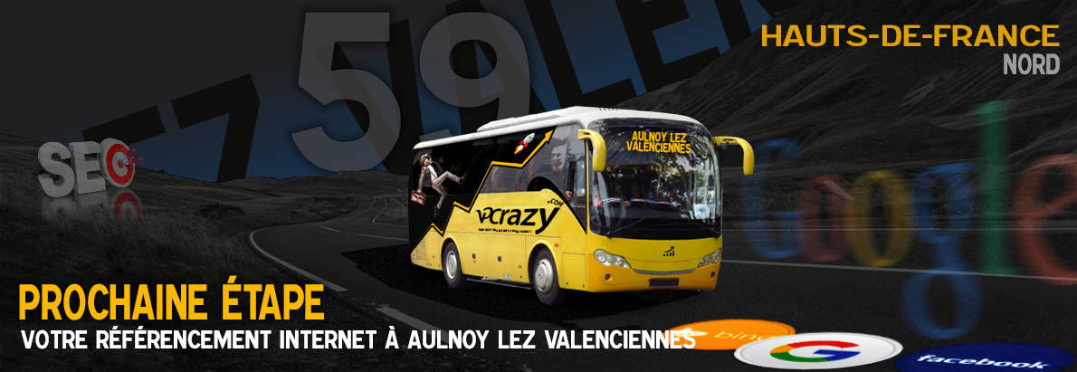 Agence SEO Google Aulnoy-lez-Valenciennes