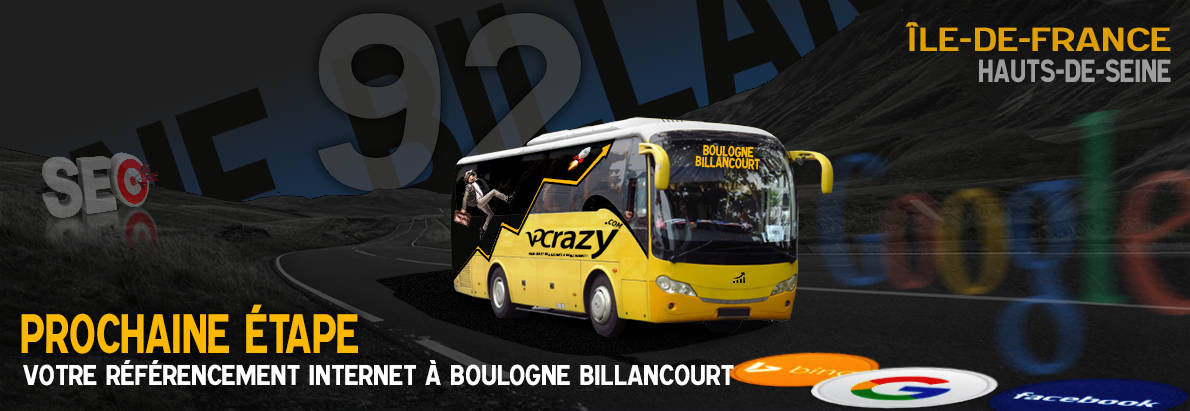 Agence SEO Google Boulogne-Billancourt