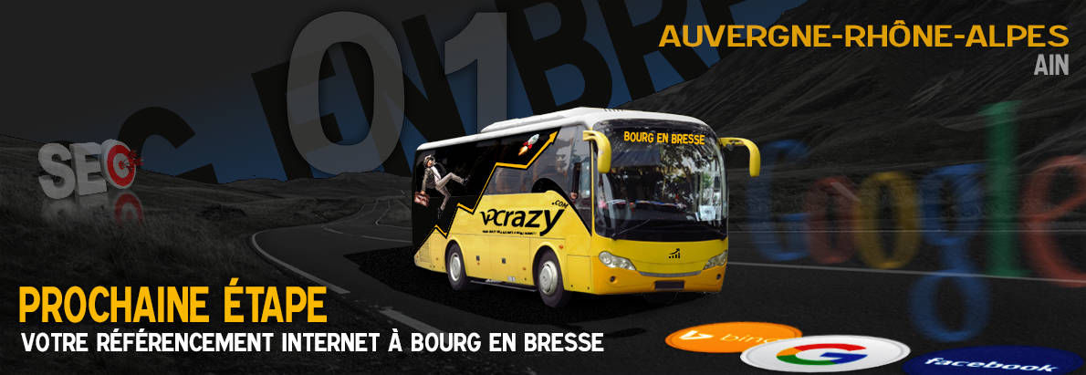 Agence SEO Google Bourg-en-Bresse