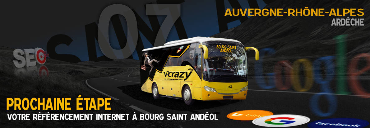 Agence SEO Google Bourg-Saint-Andéol