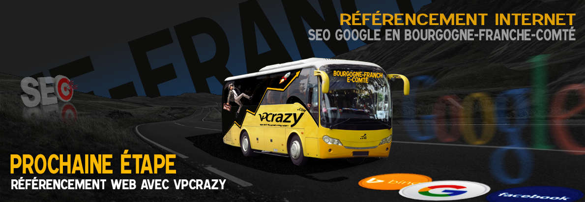 Agence SEO Google Bourgogne-Franche-Comté