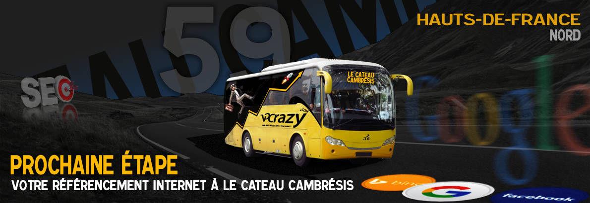 Agence SEO Google Le Cateau-Cambrésis