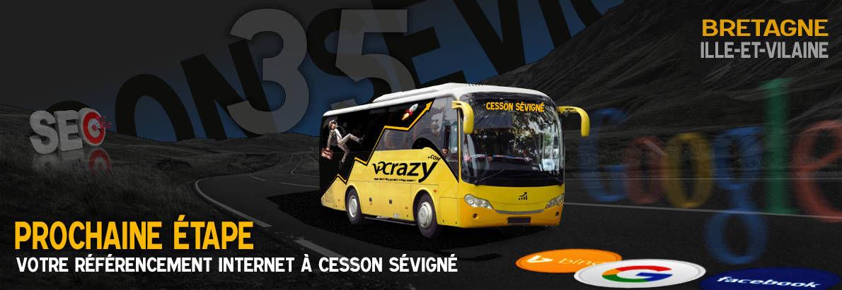 Agence SEO Google Cesson-Sévigné