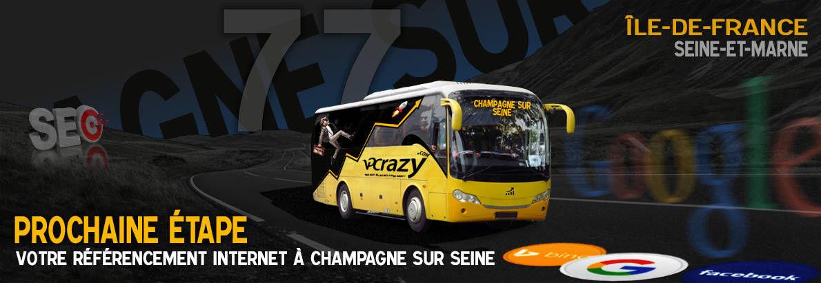 Agence SEO Google Champagne-sur-Seine