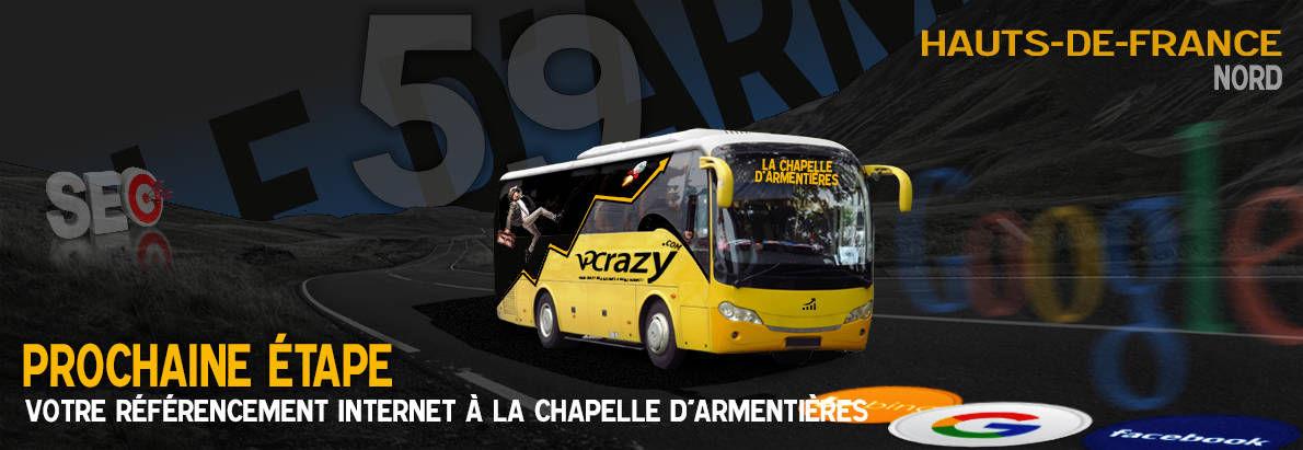 Agence SEO Google La Chapelle-d'Armentières