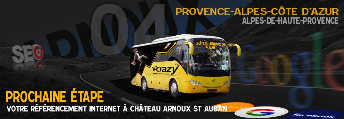 Agence SEO Google Château-Arnoux-St-Auban