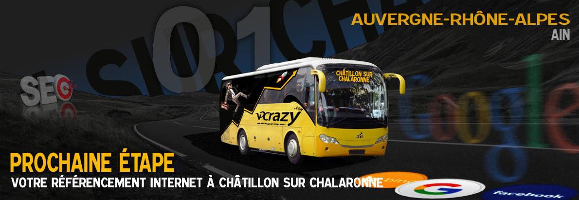 Agence SEO Google Châtillon-sur-Chalaronne