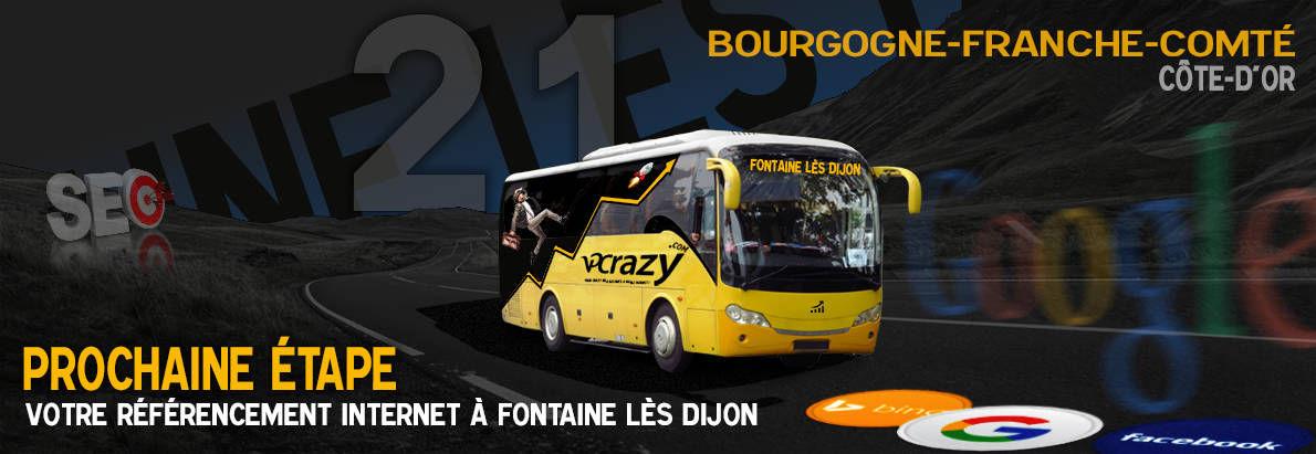 Agence SEO Google Fontaine-lès-Dijon