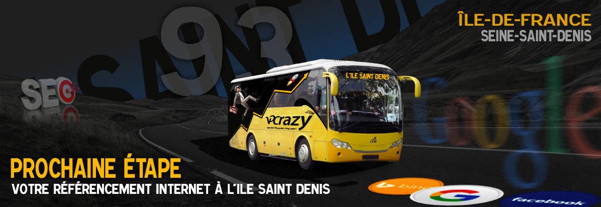 Agence SEO Google L'Ile-Saint-Denis