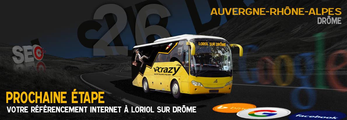 Agence SEO Google Loriol-sur-Drôme