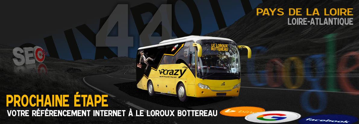Agence SEO Google Le Loroux-Bottereau