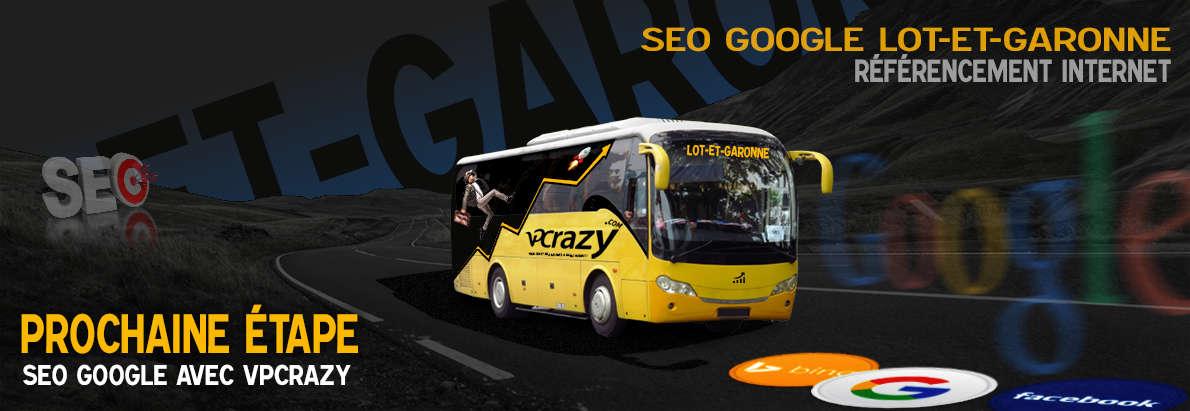 Agence SEO Google Lot-et-Garonne