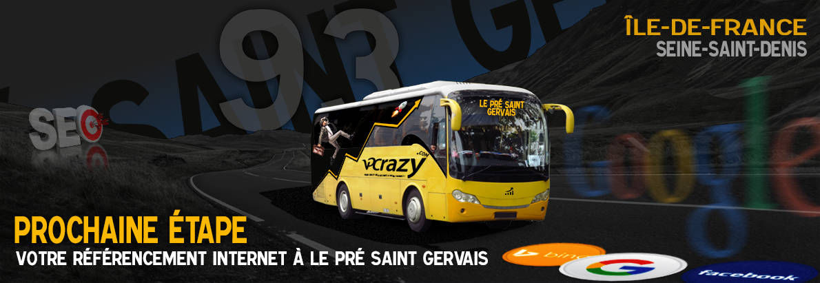 Agence SEO Google Le Pré-Saint-Gervais