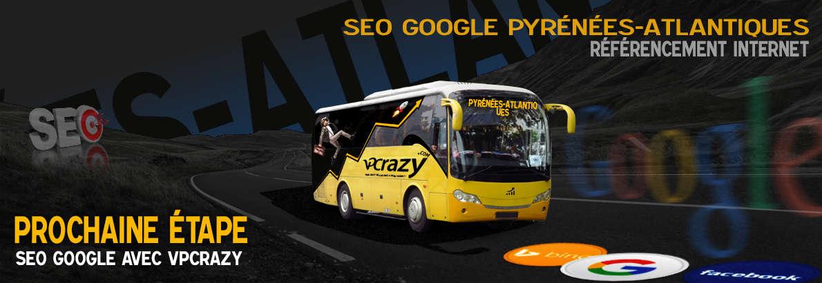 Agence SEO Google Pyrénées-Atlantiques