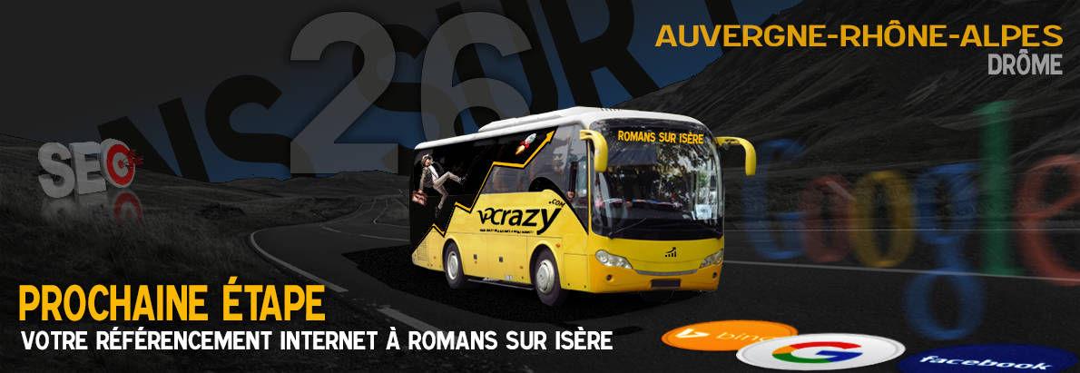 Agence SEO Google Romans-sur-Isère