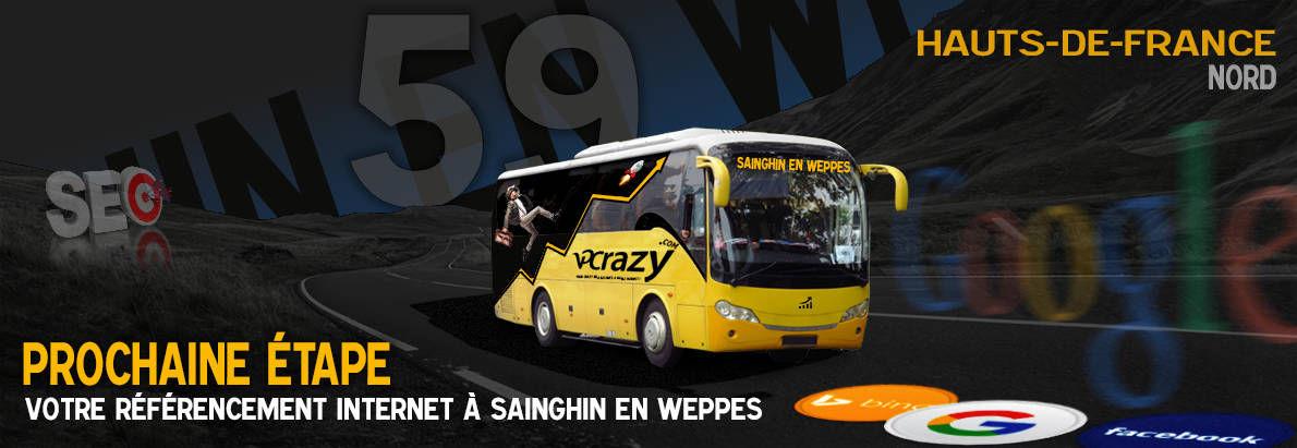 Agence SEO Google Sainghin-en-Weppes
