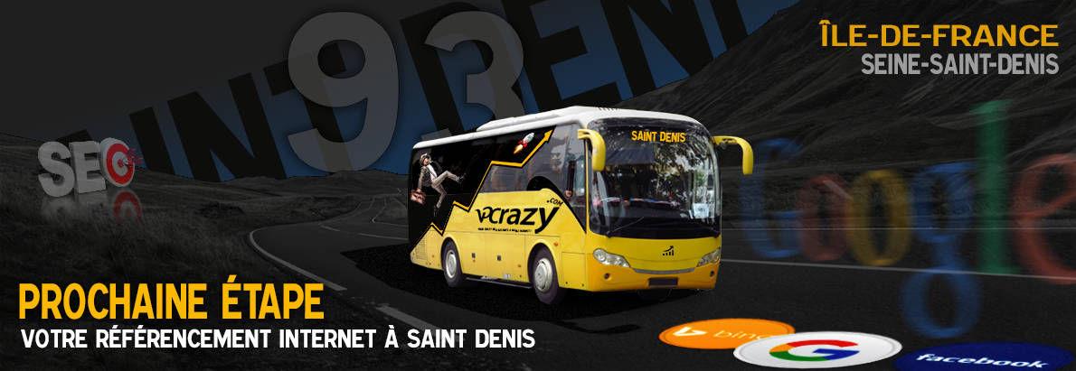 Agence SEO Google Saint-Denis