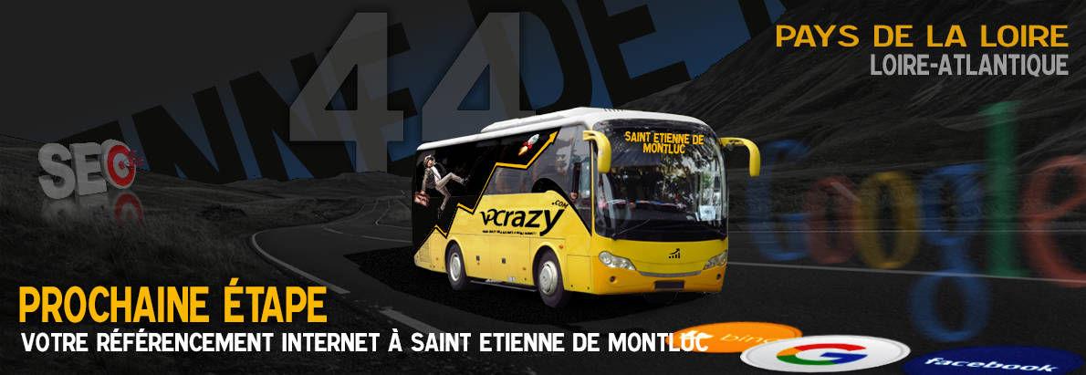 Agence SEO Google Saint-Etienne-de-Montluc