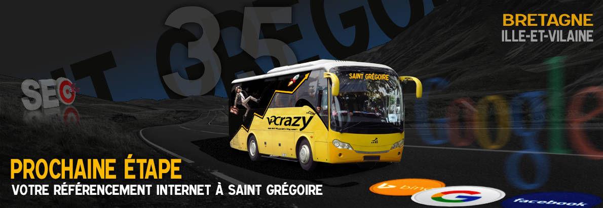 Agence SEO Google Saint-Grégoire
