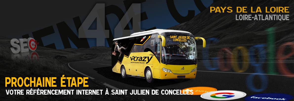 Agence SEO Google Saint-Julien-de-Concelles