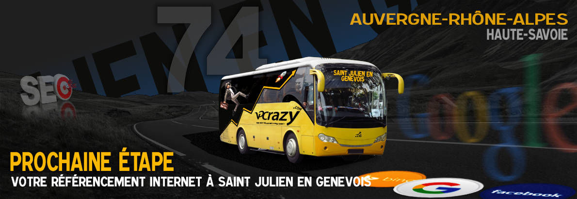 Agence SEO Google Saint-Julien-en-Genevois